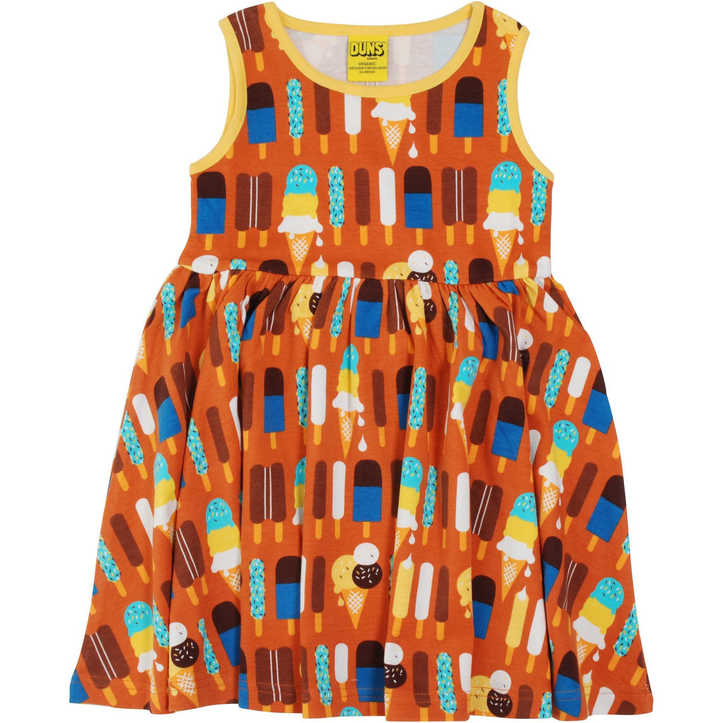 Duns Sweden - Ice cream Pumpkin Twirly Dress (last one sz 9-12M)