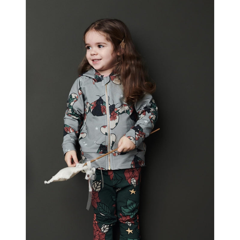 Dear Sophie - Grey Butterfly Hoodie (last one sz9-10Y)