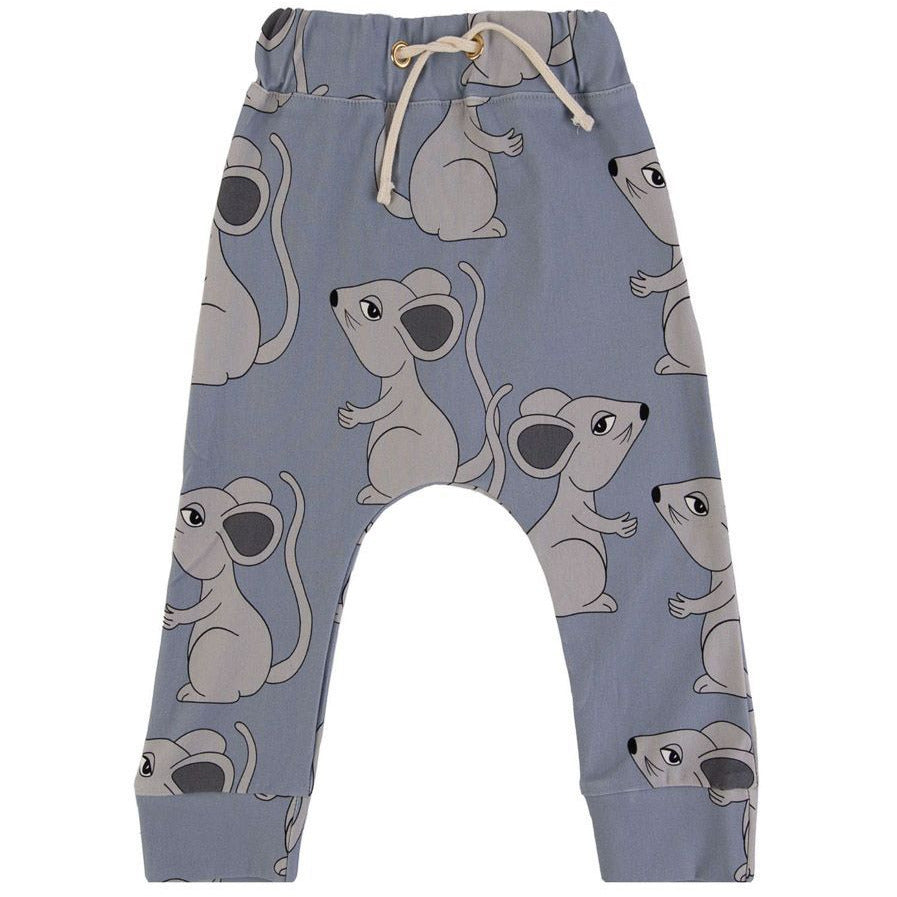Dear Sophie - Mouse Blue - Pants***Pre-order***