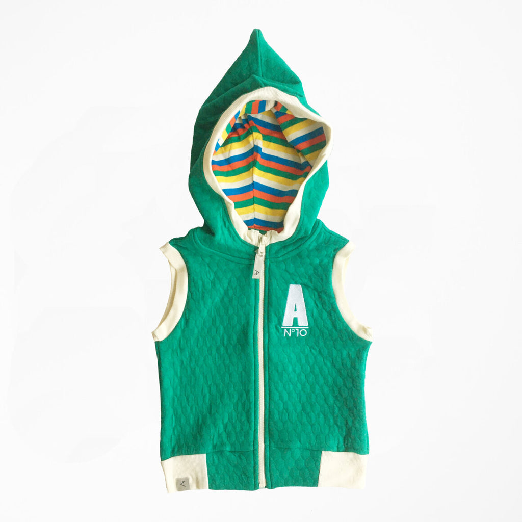 Alba of Denmark - Trojan Vest Pepper Green