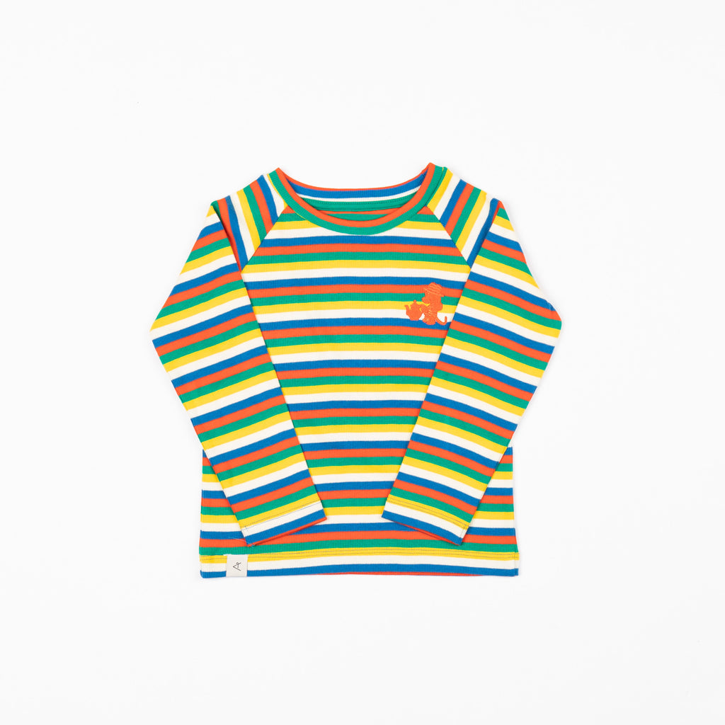 Alba of Denmark - All You Need Tee - Tivoli Fun Stripes (last one sz 3-4Y)