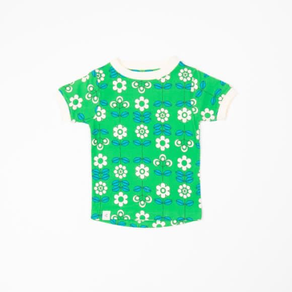 Alba of Denmark - Bella T-shirt Kelly Green fairytale
