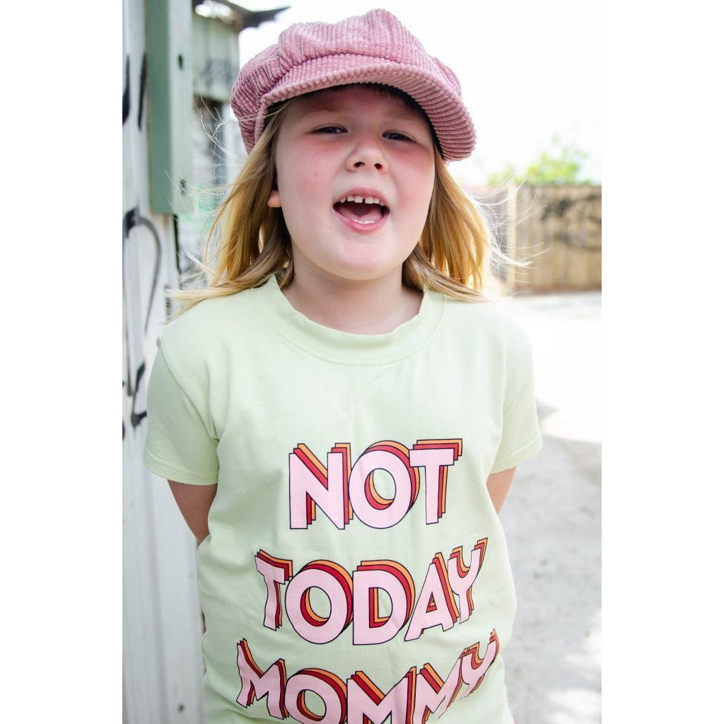 Banana Valentine - Wide T Shirt - Not Today Mommy