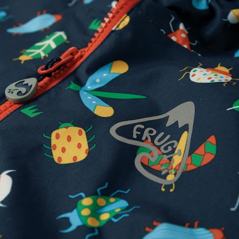 Frugi - Rain Or Shine Jacket Bugs