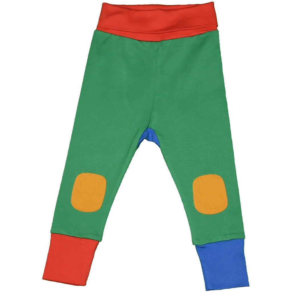 Moromini - Baby Pants - Red/Green/Blue (last one sz 6-9M)