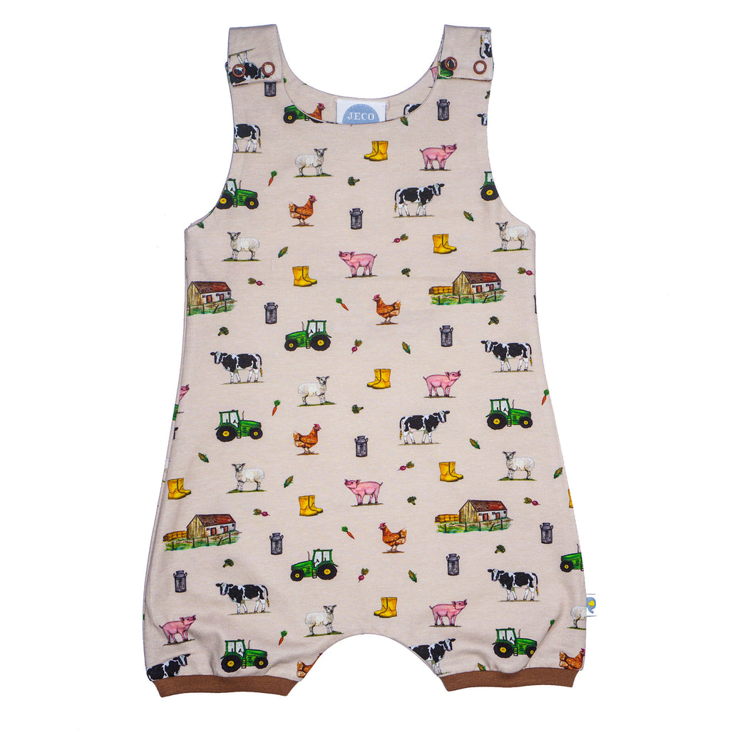 Jeco - Farm  Dungarees (shortleg)