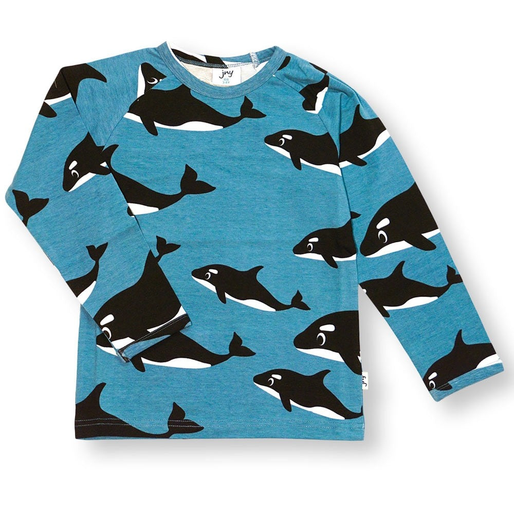 JNY - Shirt L/S Wild Whale - PopSee Online
