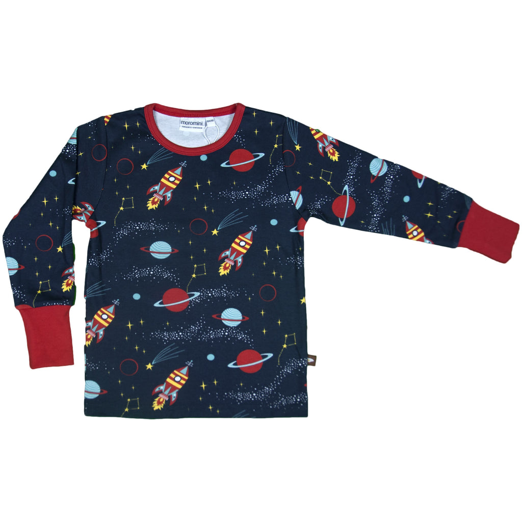 Moromini - Long Sleeve Top - Outer Space