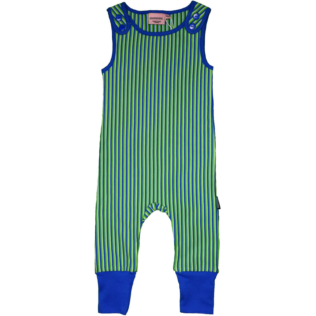 Moromini - Playsuit Striped - Green/Blue