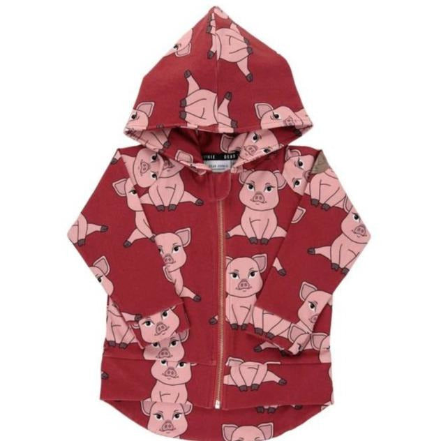 Dear Sophie - Piggy Red - Hoodie***Pre-order Size 92***