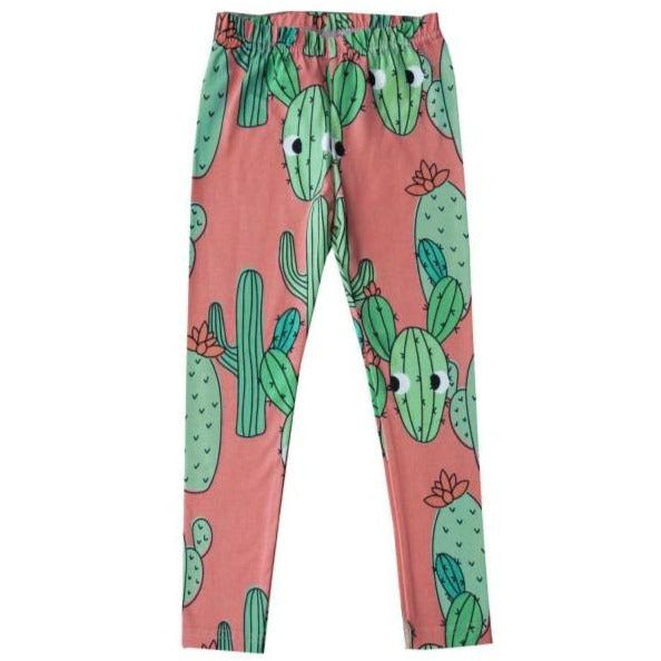 Dear Sophie - Pink Cactus Leggings