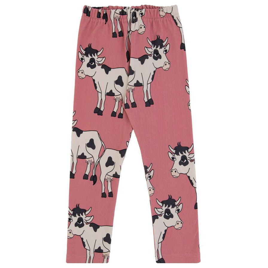 Dear Sophie - Cow Pink - Leggings