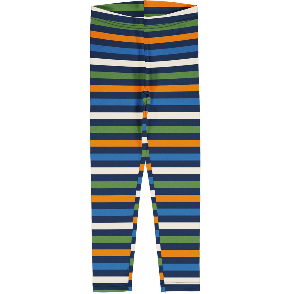 Maxomorra - Leggings Stripe Stripe Navy (last two sz 9-12M & 7-8Y)