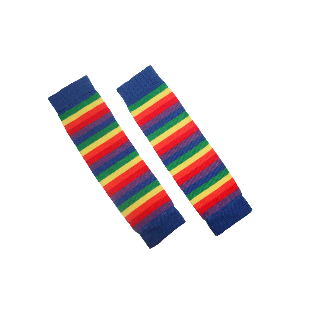 Forever is One Second - Rainbow Leg warmers