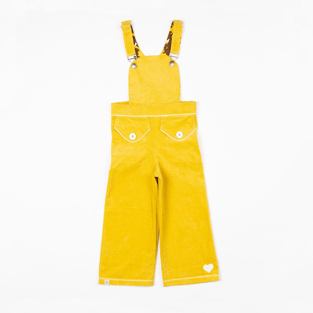 Alba of Denmark - Heartbreaking Crawler Overalls Ceylon Yellow (last two sz 2-3Y & 4-5Y)