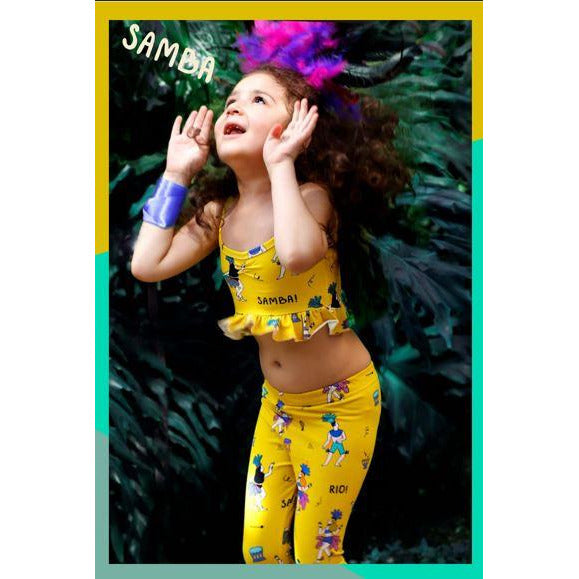 Raspberry Republic - Leggings Samba de Janeiro (last one sz 2-3Y)