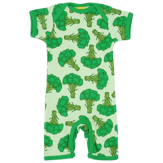 Duns Sweden - Broccoli - Short Sleeve Summer Suit