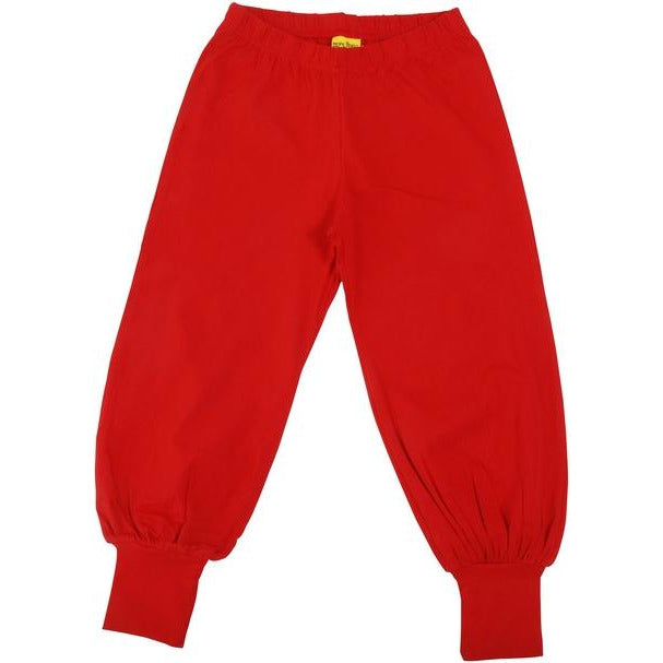 More Than A Fling - Baggy Pants  | Red- Poppy Red