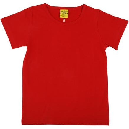 More Than A Fling -Short Sleeve Top  | Red
