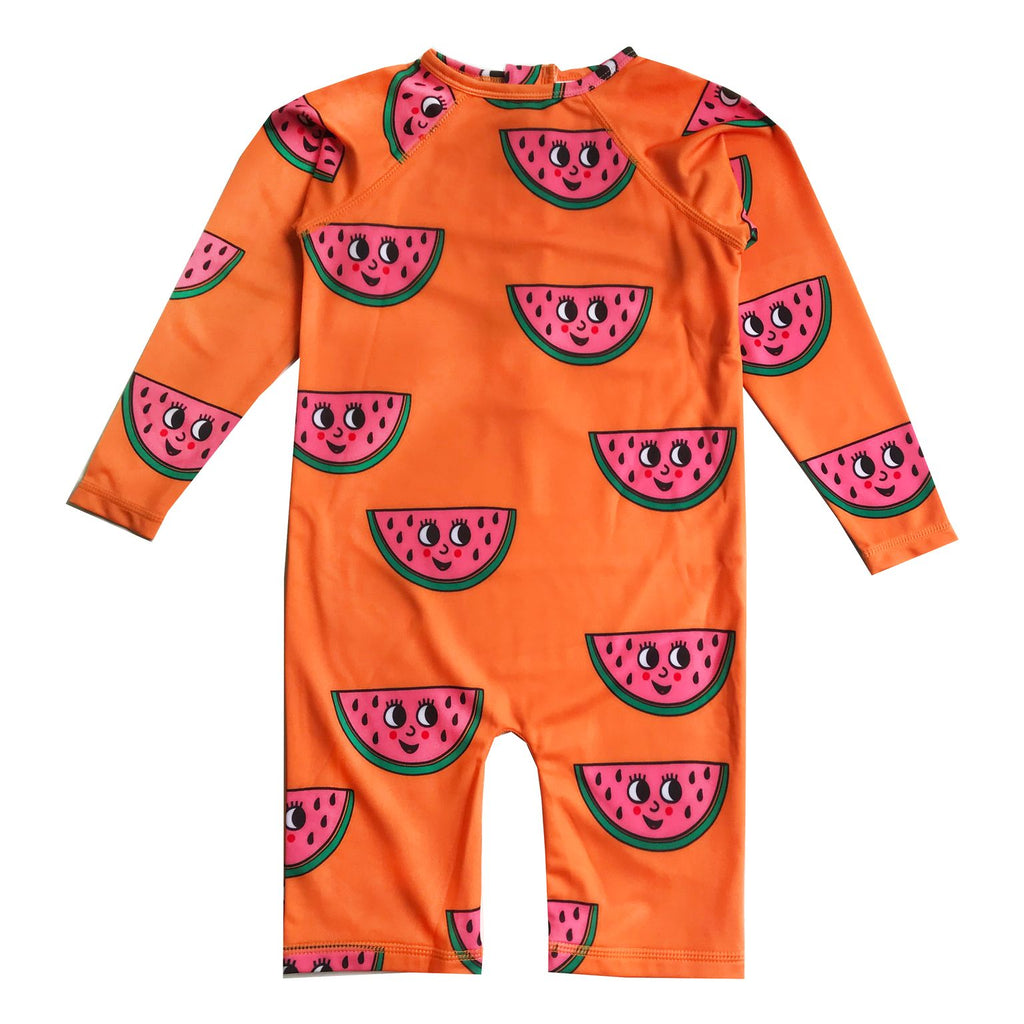 Hugo Loves Tiki - Rashguard - Watermelon Orange