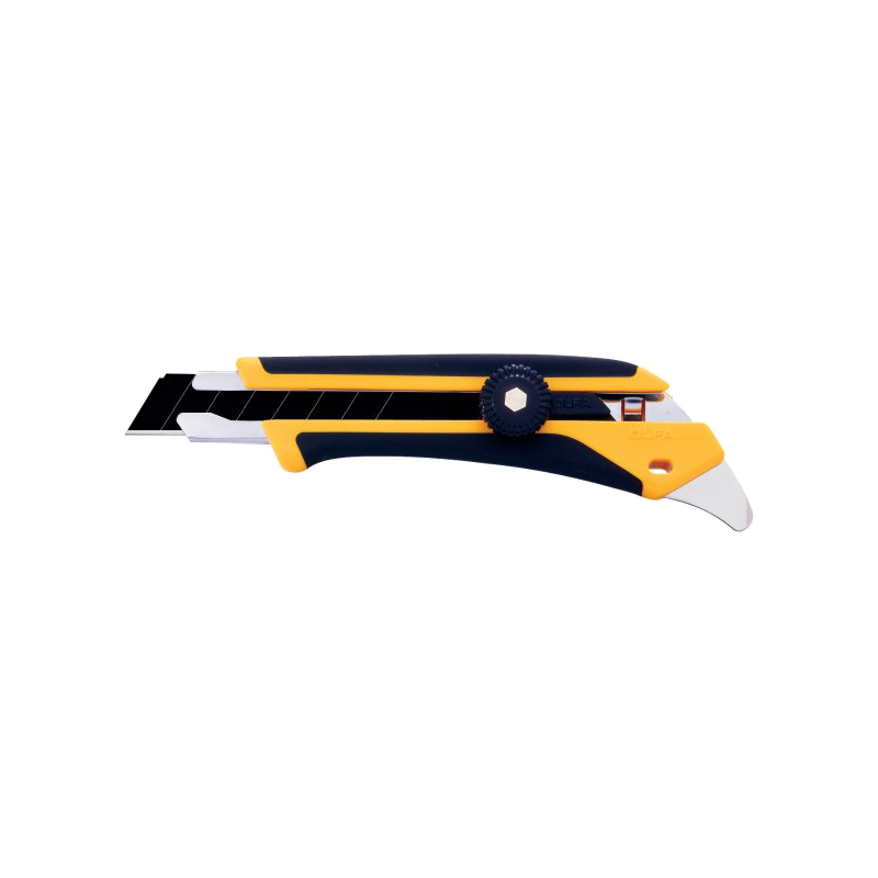 "3/4"" Ergonomic Fiberglass Ratchet-Lock Knife"