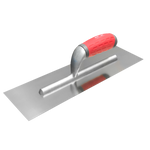 F-Line Finishing Trowel | Stainless Steel | Soft-Grip Handle