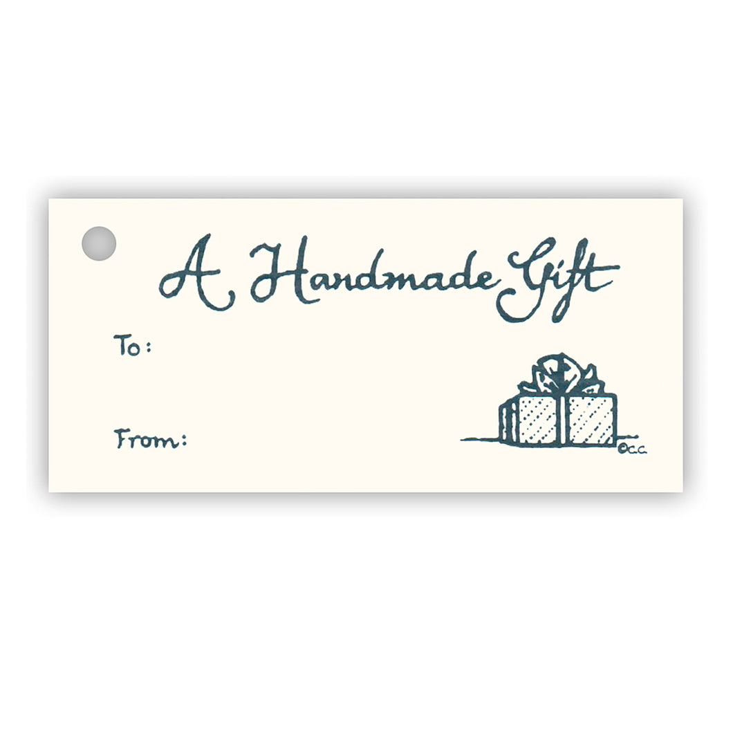 A Handmade Gift Tag