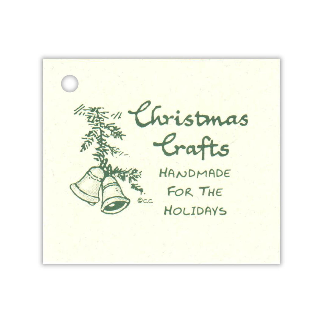 Handmade Christmas Crafts Tag