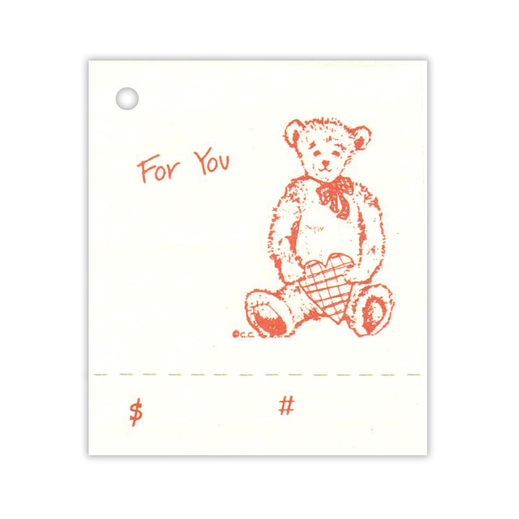 Teddy Bear For You Gift Tag
