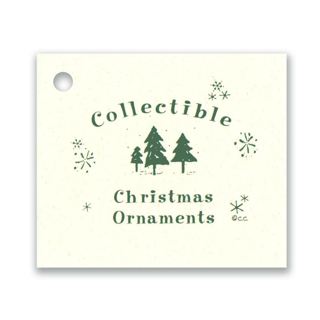 Collectible Christmas Ornaments Tag
