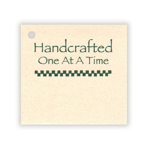 "Handcrafted Tag 2""x2-1/8"""