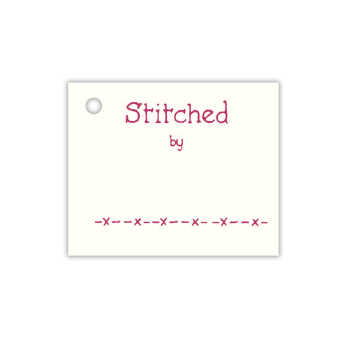 Stitched by Tags ~ A TINY Tag