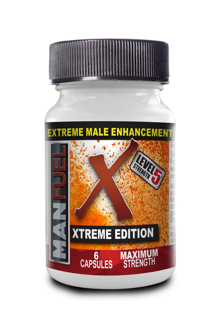 MaxFuel XTREME Edition 6 Pill Bottle