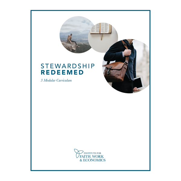 Stewardship Redeemed 3 Modular Curriculum (Digital Download)