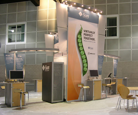Ways Lighting Can Impact Trade Show Booths