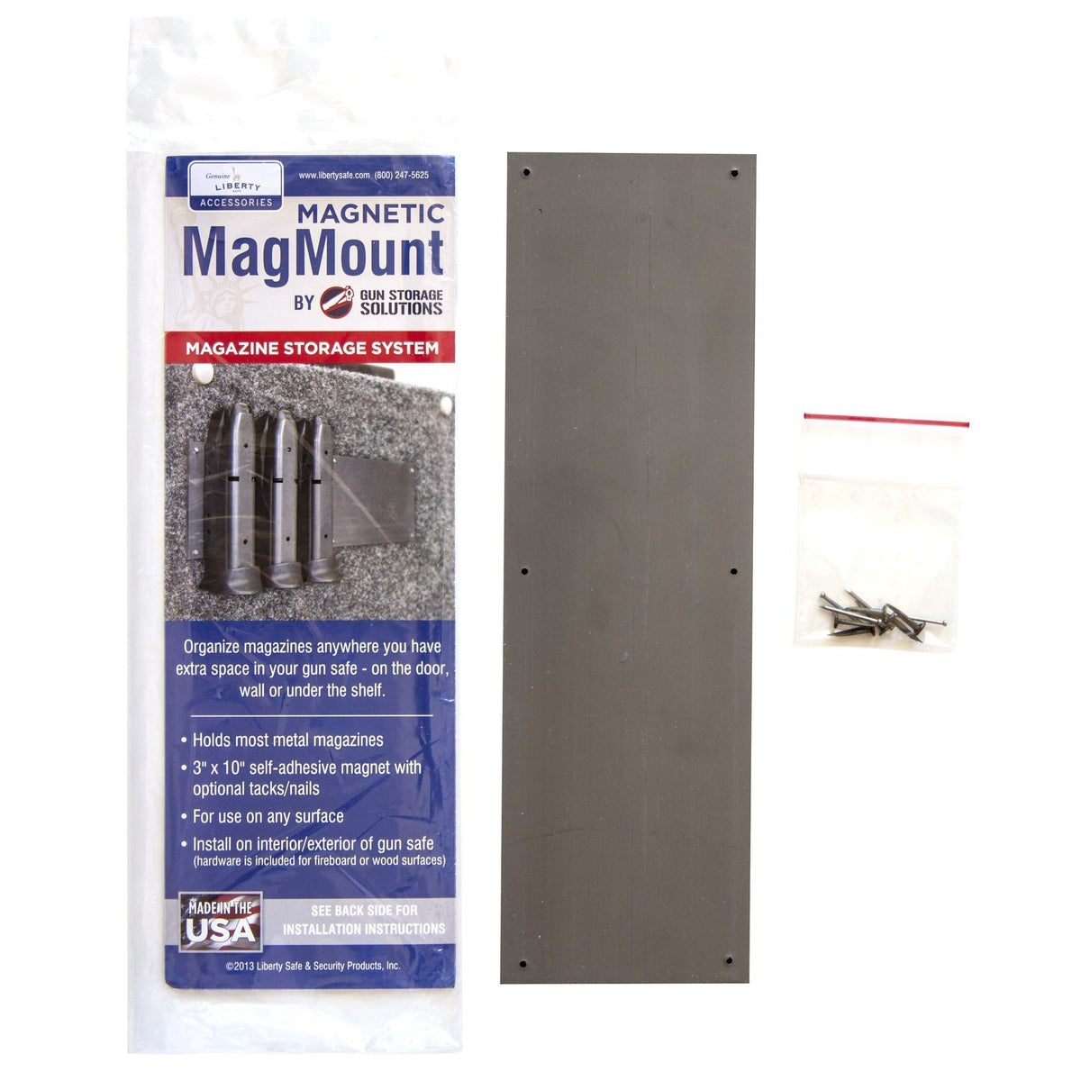 Liberty Safe-accessory-storage-magnetic-mag-mount
