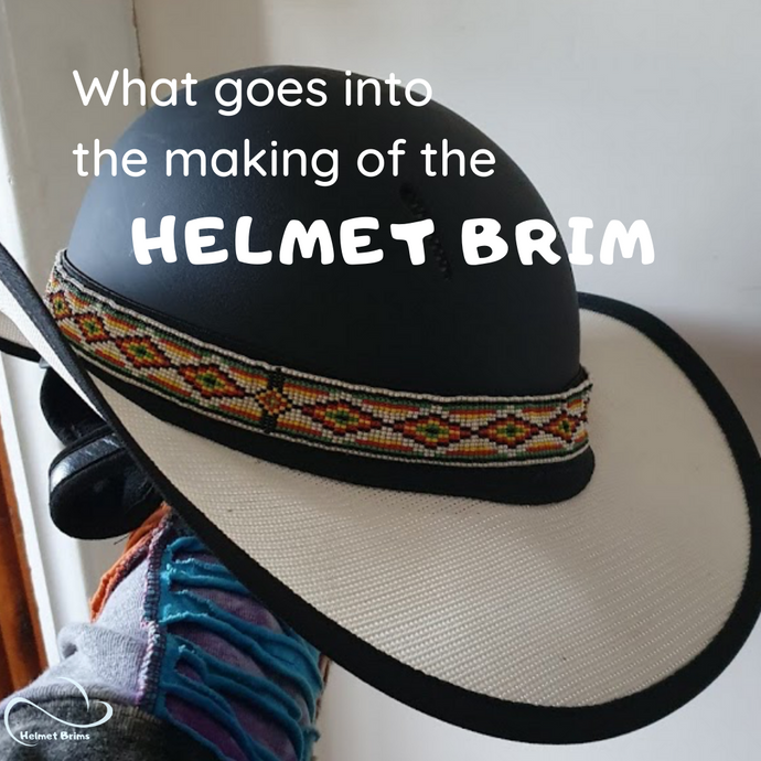 How we make Helmet Brims - handmade in Australia!