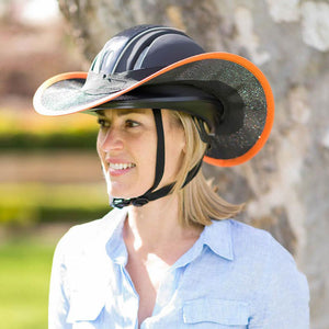 Horse Riding Detachable Helmet Brim