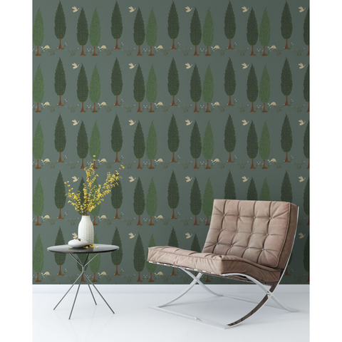 Tranquility | Colour: Asparagus Green