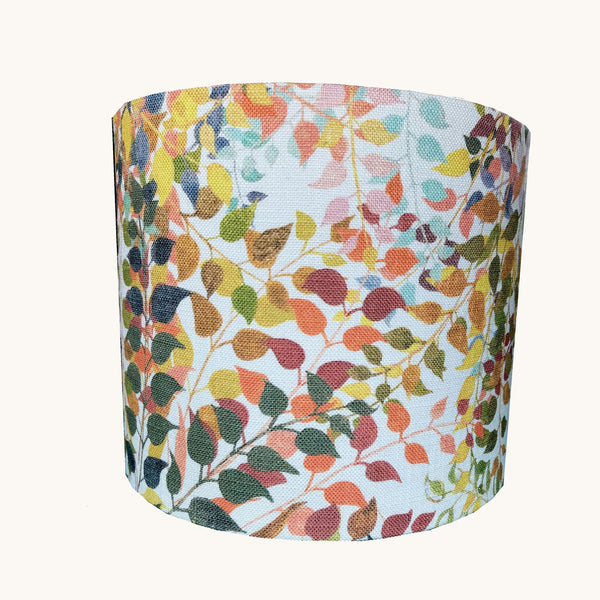 Drum Confetti Leaves Lampshade