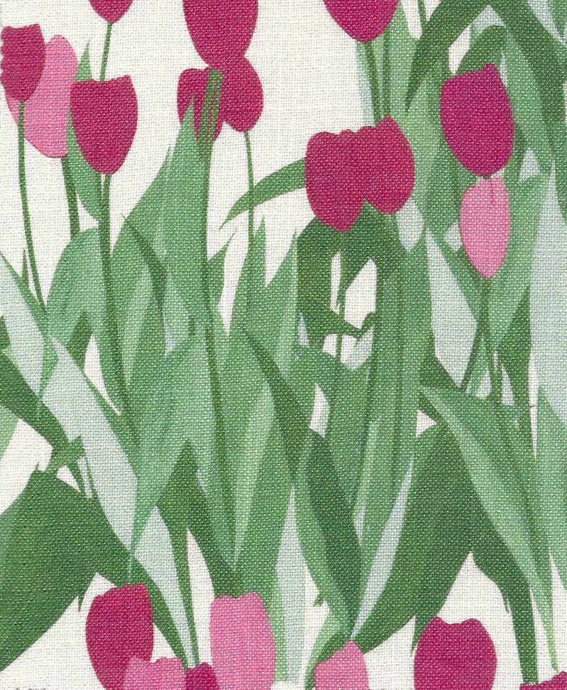 In Bloom Fabric SAMPLE | Colour: Spinel Red