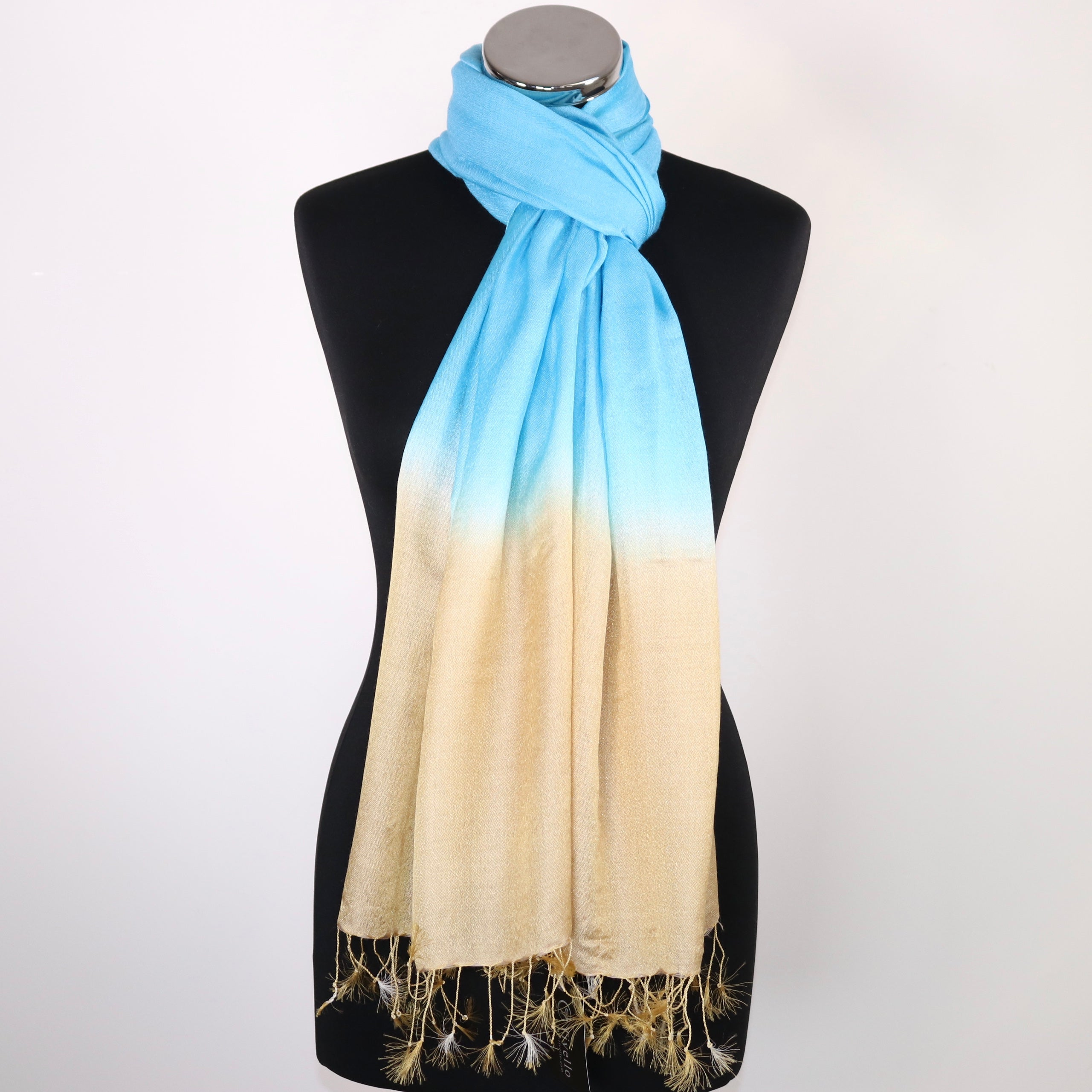 Selina Two Toned  Scarf