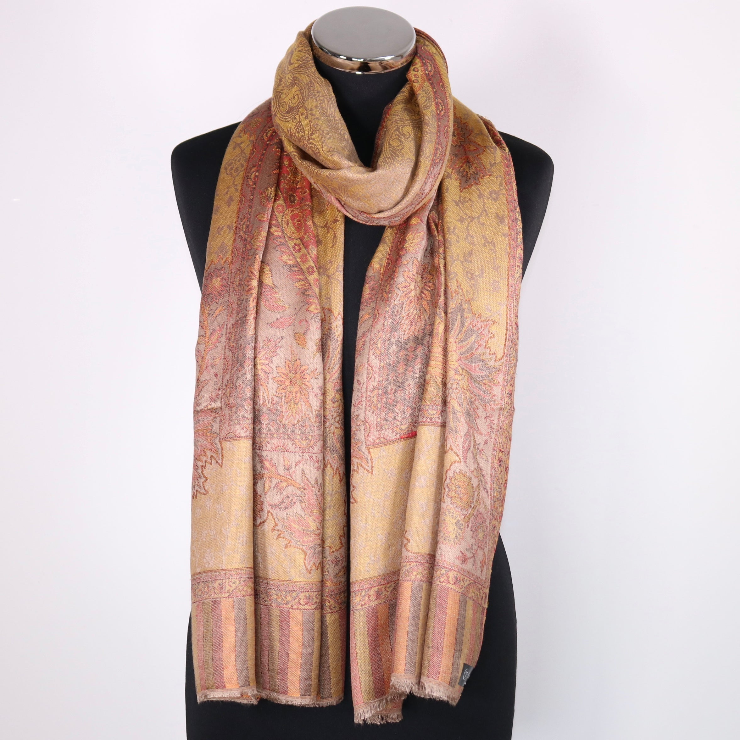 Gold Modal Scarf