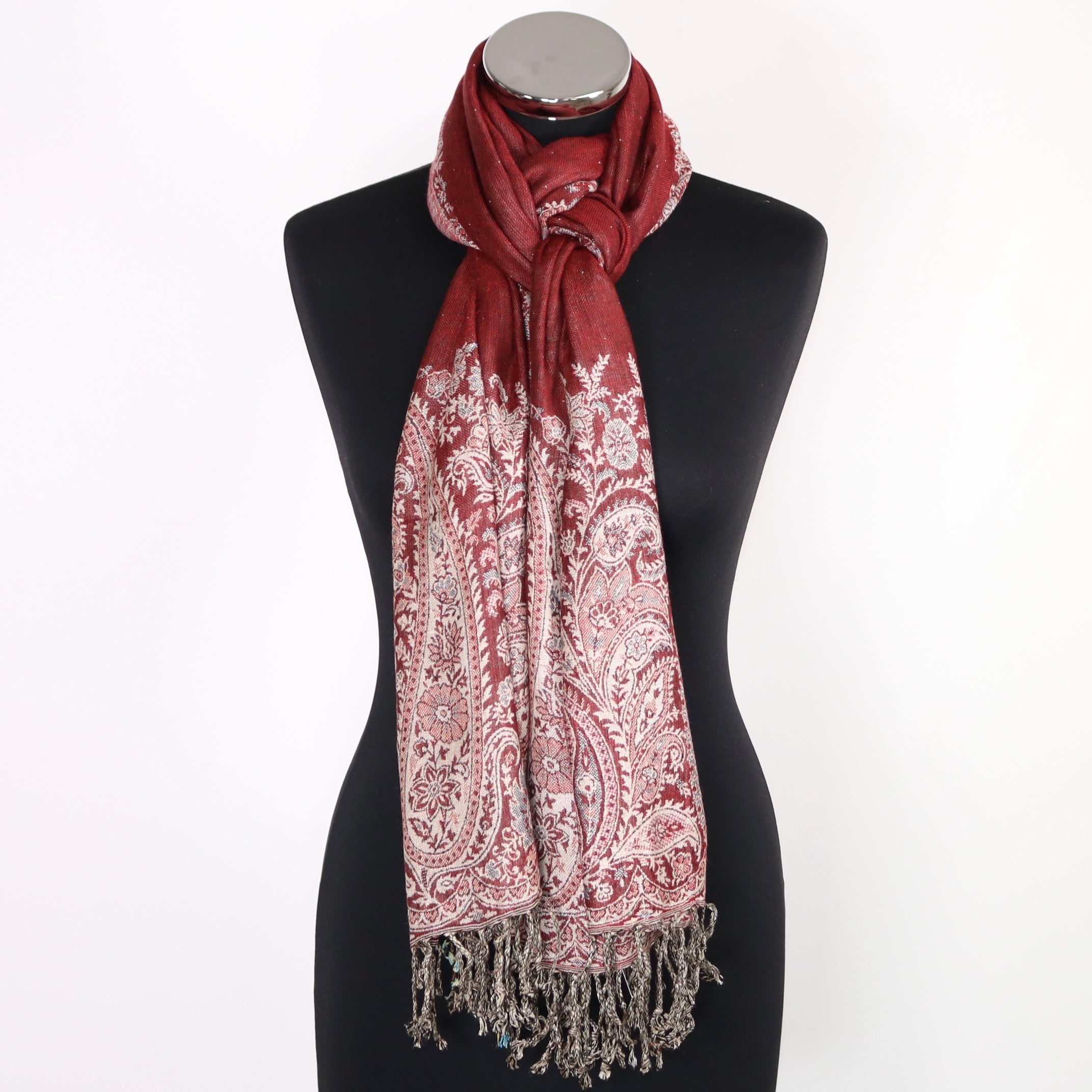 Mika Reversible Viscose Scarf