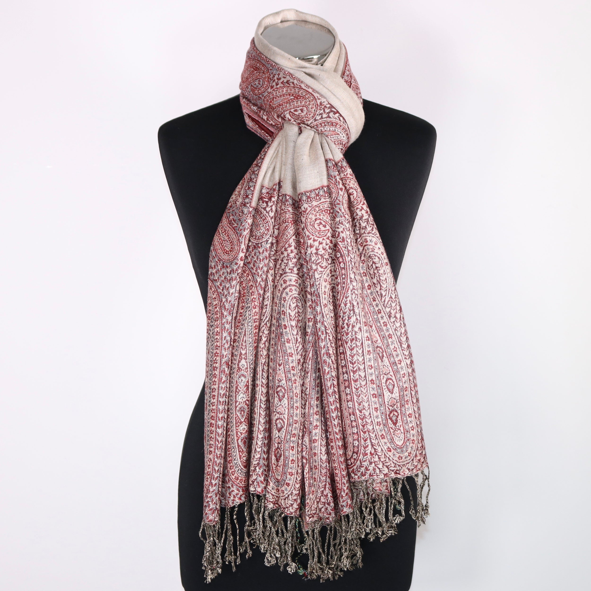 Leanne Reversible Viscose Scarf