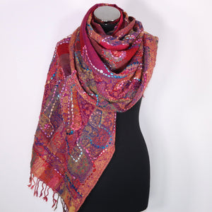 Jennifer Boiled Wool Scarf Wrap
