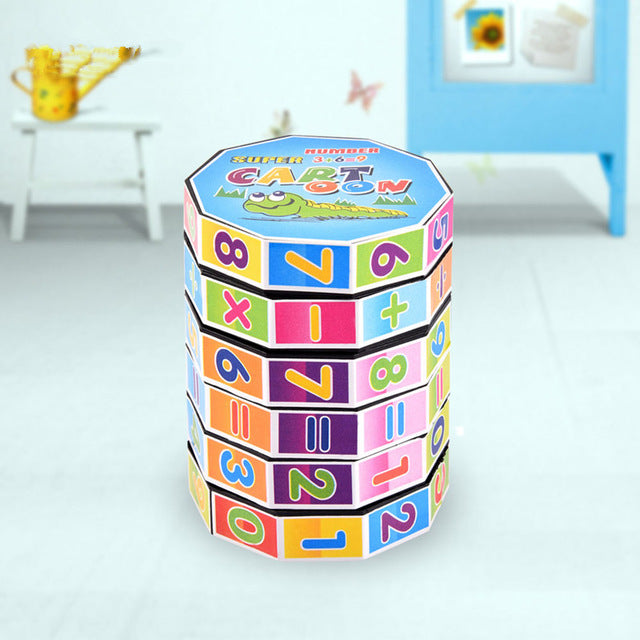 Learning Education Math Toys Montessori Teaching Resources Puzzle Cube For Kids Number Training Aids Fun Calculate Game