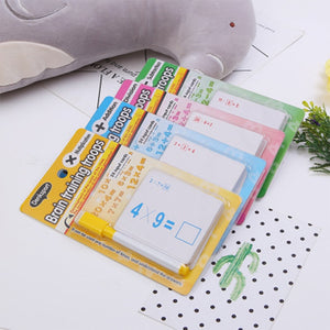 Children Reusable Mathematics Teach Card Baby Improve Math Arithmetic Ability Kids Kindergarten Early Education Interactive Toys