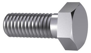 M5 Hexagon Head Hex Set Screw ISO 4017 / DIN 933 Steel 8.8 HT