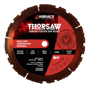 Abracs Thorsaw Carbide Cluster Saw Blade